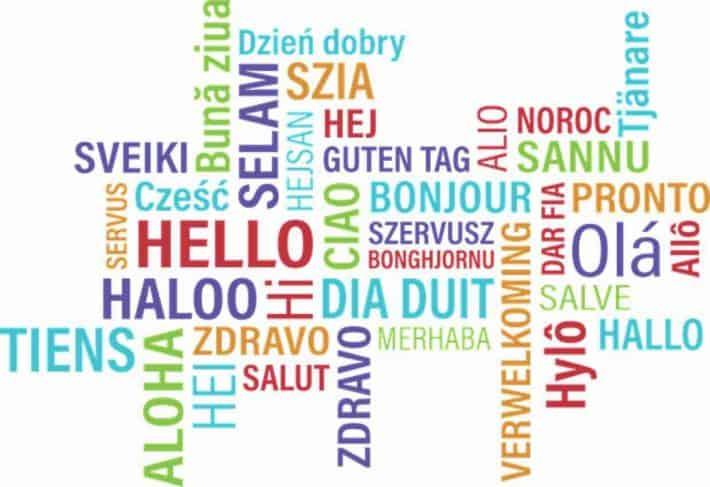 """1,2,3... Richesse, Le blog sur l'argent. Des """"bonjours"""" dans de multiples langues."""