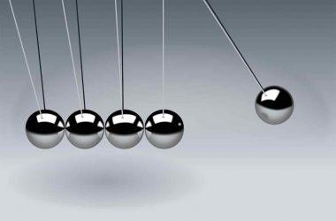 Comment passer à l'action. Pendule de Newton