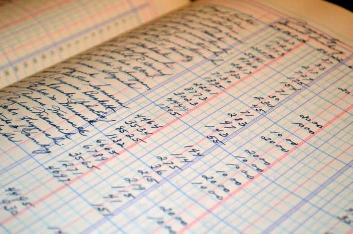 Budget : livre de comptes