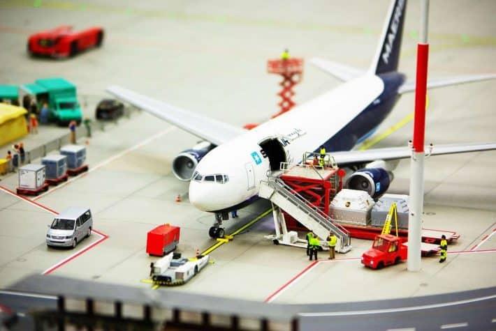 privatisation aéroport de paris. Un avion de ligne.