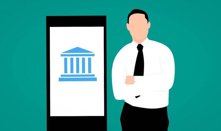 C'est quoi un compte bancaire . Un smartphone avec une apllication de portable.