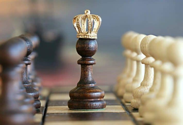 Apprendre à gagner de l'argent. Le roi aux échec.