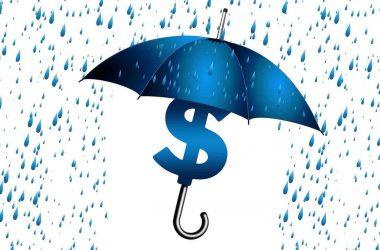 Assurance vie comment ça marche. Un parapluie protégeant des dollars.