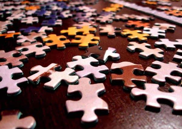 comment construire une allocation d'actifs. Des pièces de puzzle.